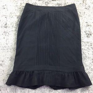 NANETTE LAPORE Pleated Ruffle Skirt